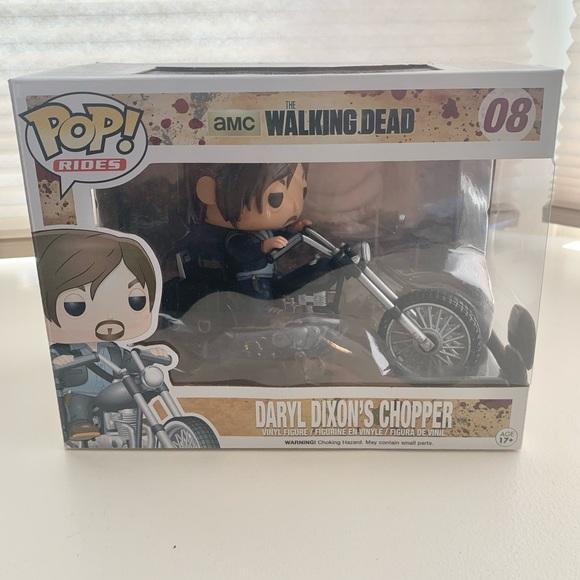 FunkoPOP Rides,Walking Dead,Daryl Dixon's Chopper